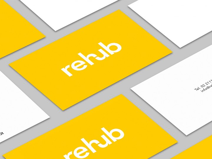 Rehub logotipo e corporate identity